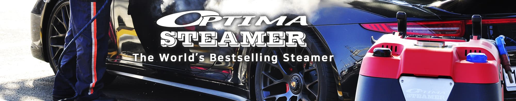Steam Car Wash - SJE Optima Steamer